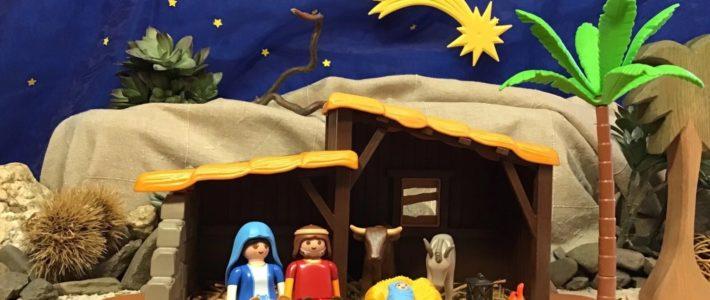 Die Weihnachtsgeschichte in Reimen