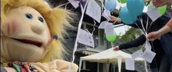 Die Gewinner des Luftballon-Weitflugs