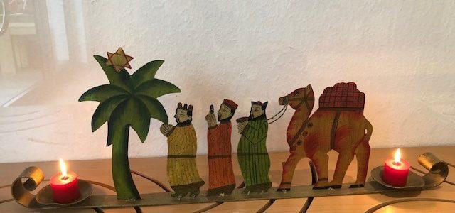 Das Fest der hl. drei Könige in der Kita Sonnenblume