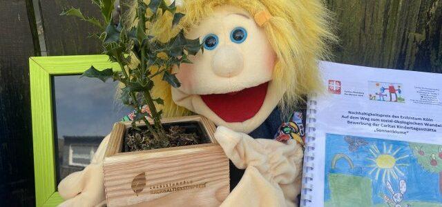 1. Platz für die Sonnenblume – Auszeichnung Nachhaltigkeitspreis 2021